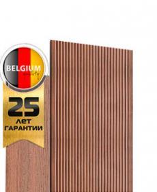 Террасная доска дпк полнотелая TWINSON MASSIVE PRO 9369 (Бельгия) цвет 0270 мореный дуб