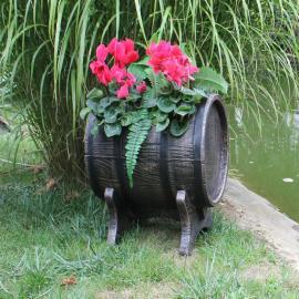 Бочонок для растений (Planter Barrel Swing)