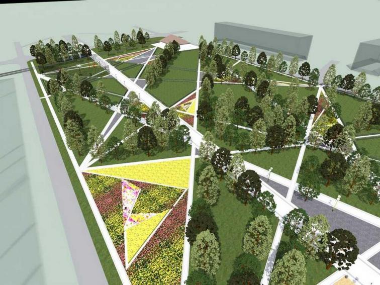 Дизайн-проект благоустройства бульвара