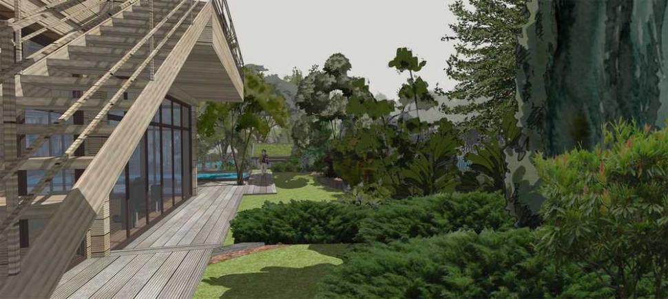 «Сад четырех элементов», Московская область, Солнечногорский район